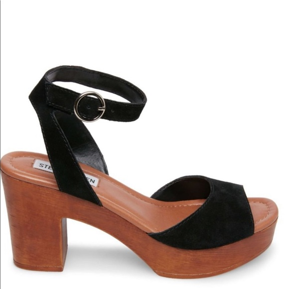 Steve Madden Shoes | Lonnie Black Suede